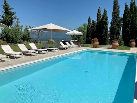 Apartment with pool Chianti hills