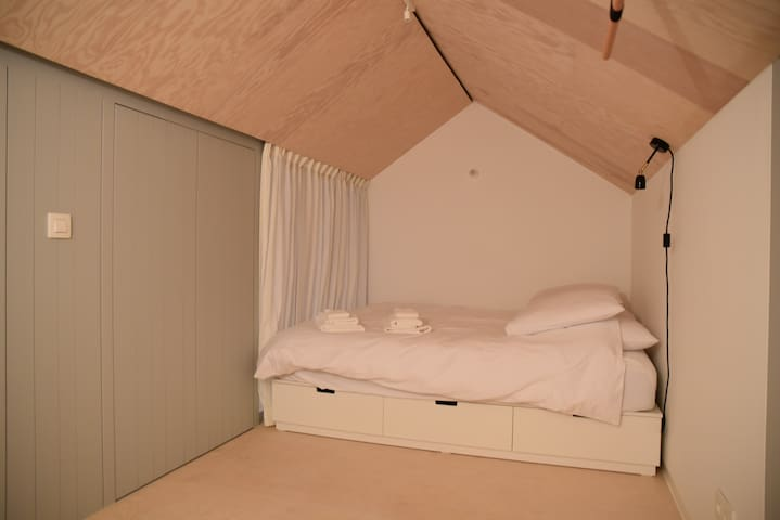 upper bedroom under the roof