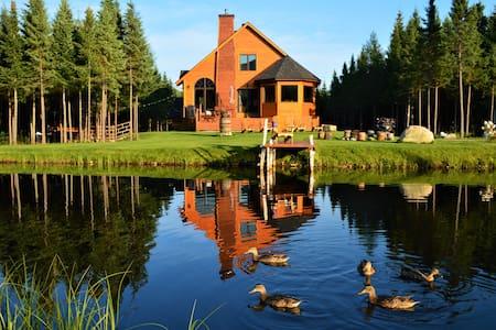 Chalet avec lac privé [REN-7]