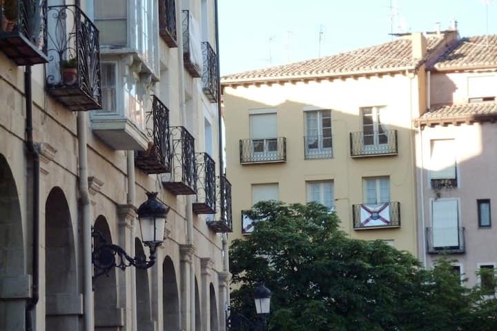 El Balcón del Mercado. Precioso, centro y vistas