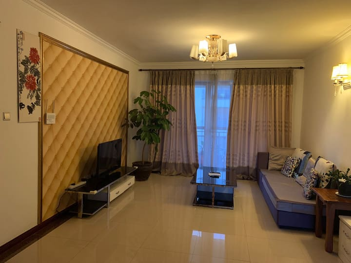 Furnished 2 bedroom with pool & lift next to yaya
