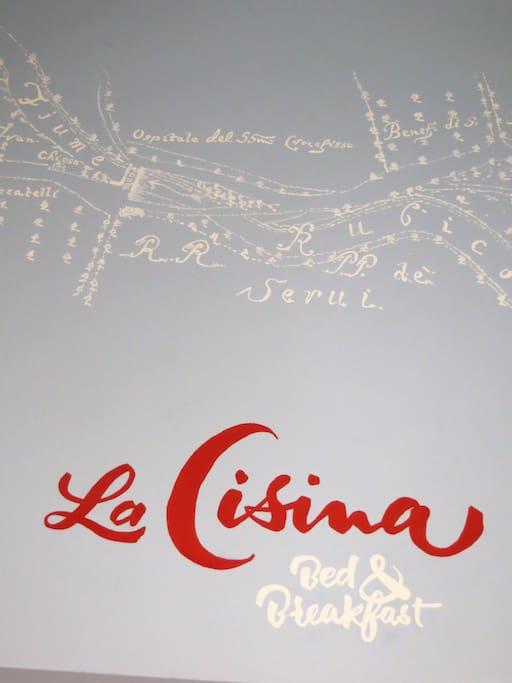 logo: La Cisina (chiesina , piccola chiesa)