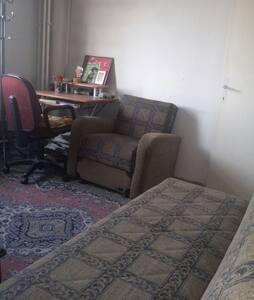 Cute room where cool in summer and warm in winter! - Ankara - Apartment