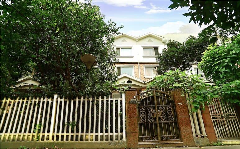 20LEGEND HOME住在花园别墅里,金沙遗址、浣花溪、杜甫草堂,管家服务,宁静致远的别墅-花园 - Chengdu - Villa