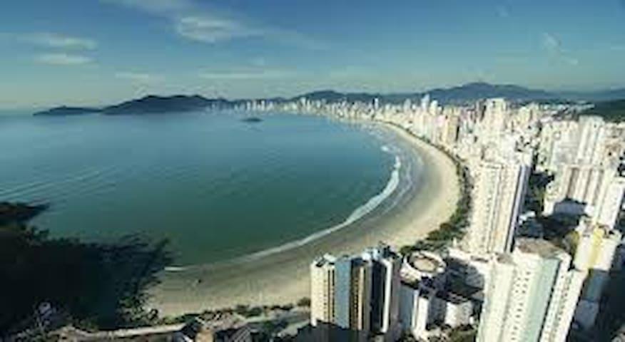 Aconchego no coração da cidade - Balneário Camboriú - Appartement