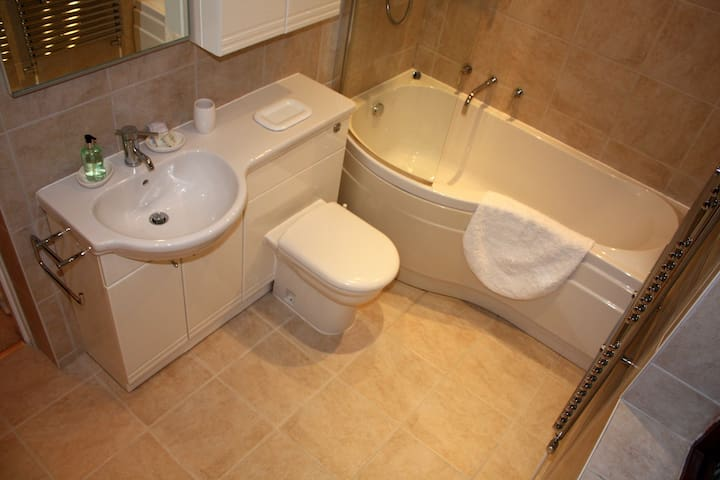 Large En-suite With Bath And Power Shower