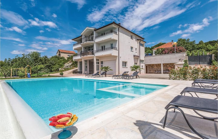 Amazing home in Glavina Donja with WiFi and 6 Bedrooms
