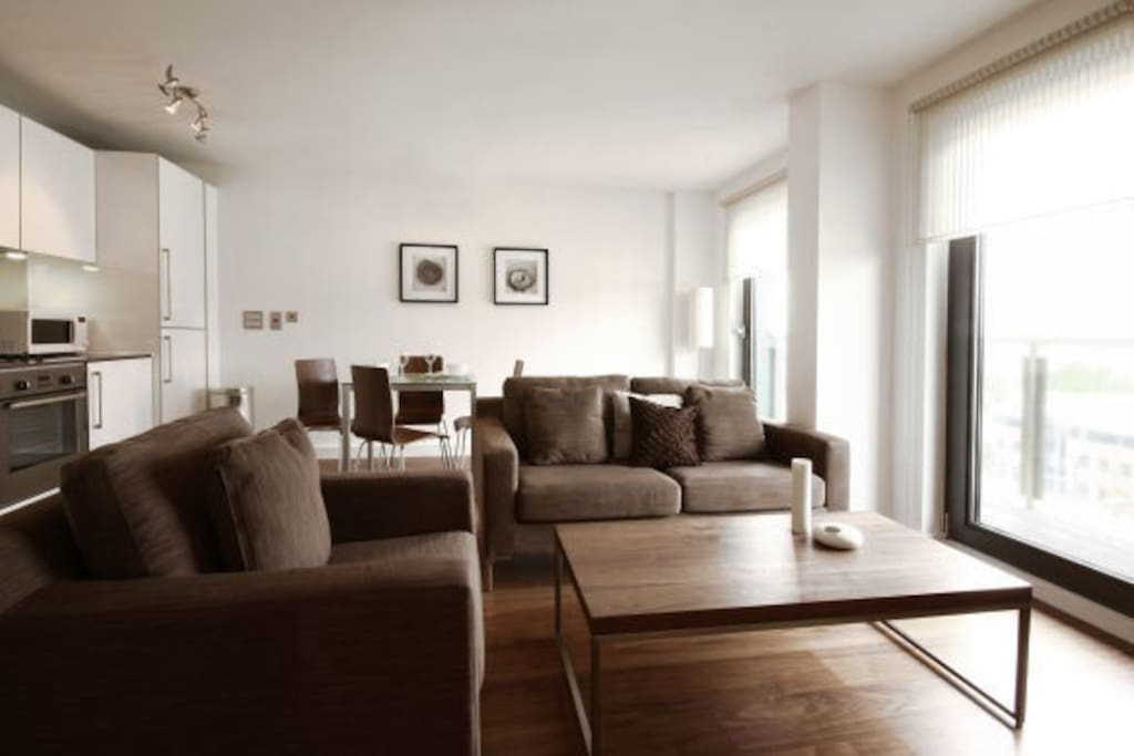 We have a number of apartments in Mosaic, and the photos here are an example of the standard, and furnishings.