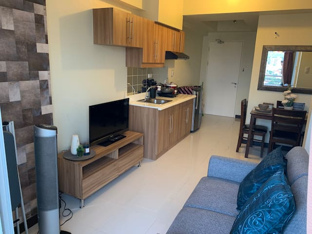 Spacious upto 5 pax -1 BR Resort  Condo in Zinnia