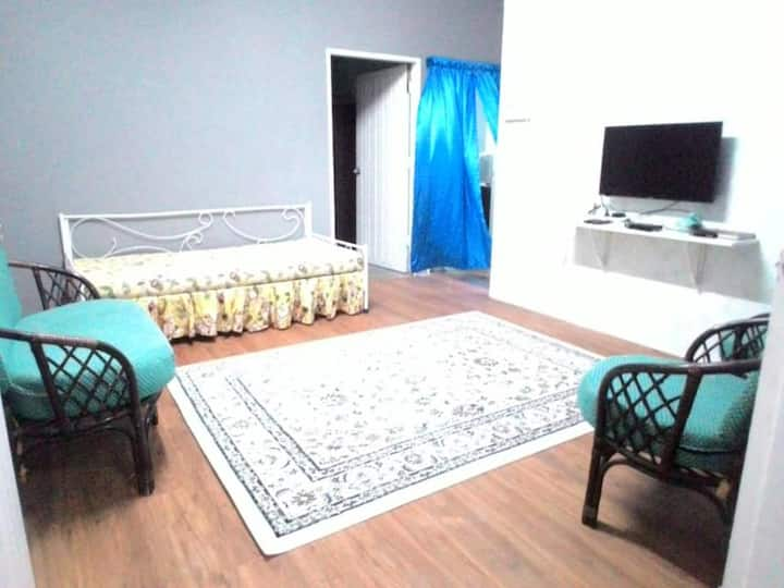 Nurul's Homestay B, a small two-bedroom house