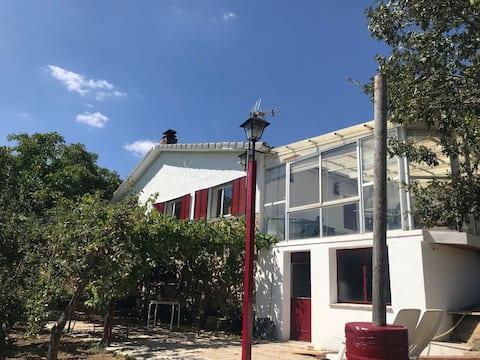 Una casa con vistas en Peguerinos.