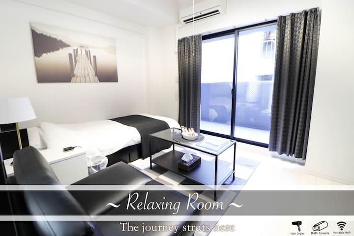 Shinsaibashi Elegant Room Free Wifi