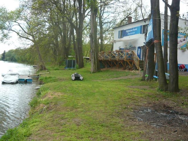 Ubytování Baťův kanál U loděnice