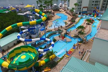 Enjoy brand new vacation 2/2 condo & water park!