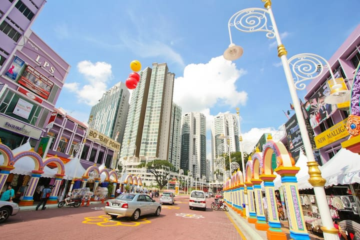 Private Room in lovely Little India, in KL! - Kuala Lumpur - Apartamento