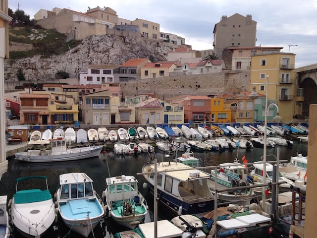 Appartement au Vallon des Auffes - Marseille - Wohnung