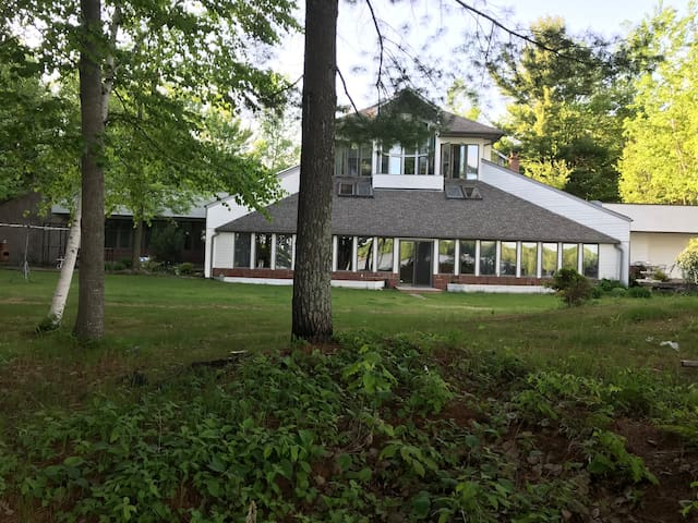 The Glass House on Lake Holcombe