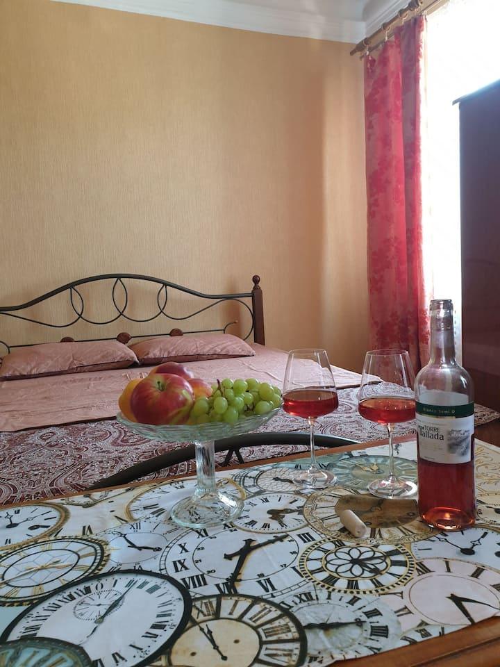 Двухкомнатная квартира в курортной зоне Пятигорска