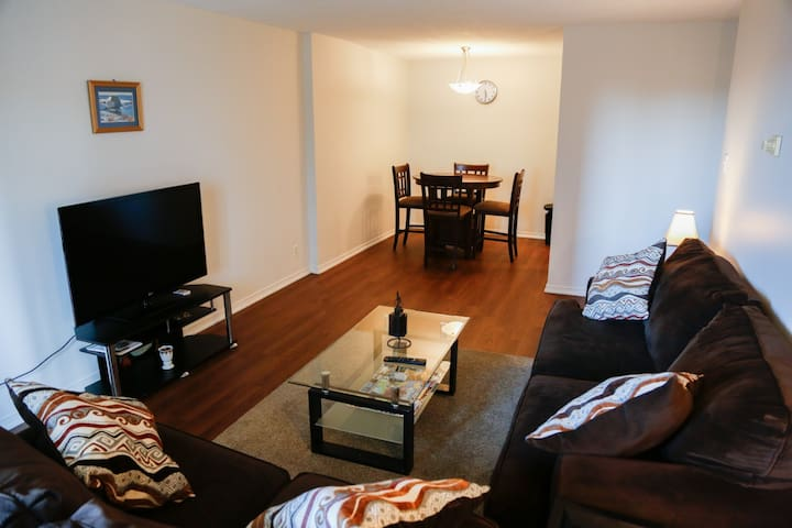 Beautiful 2 bedrooms apartment on downtown Halifax