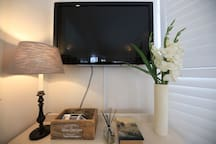 Garden Suite flat screen TV
