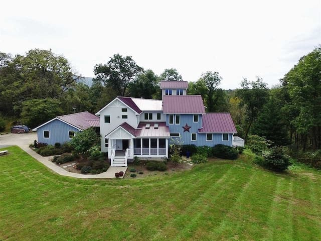 Riverfront Retreat on 14 Acres