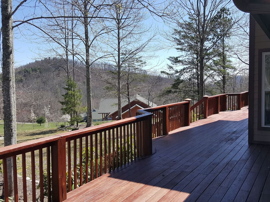 Breathtaking deck view