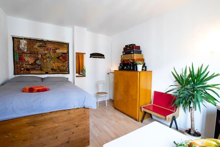 Gemütliches Vintage-Zimmer im Herzen Darmstadts