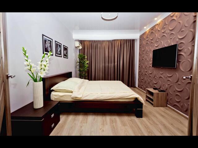 2-ком.кв в центре с дизайнер.ремонт - Nizhniy Novgorod - Appartement