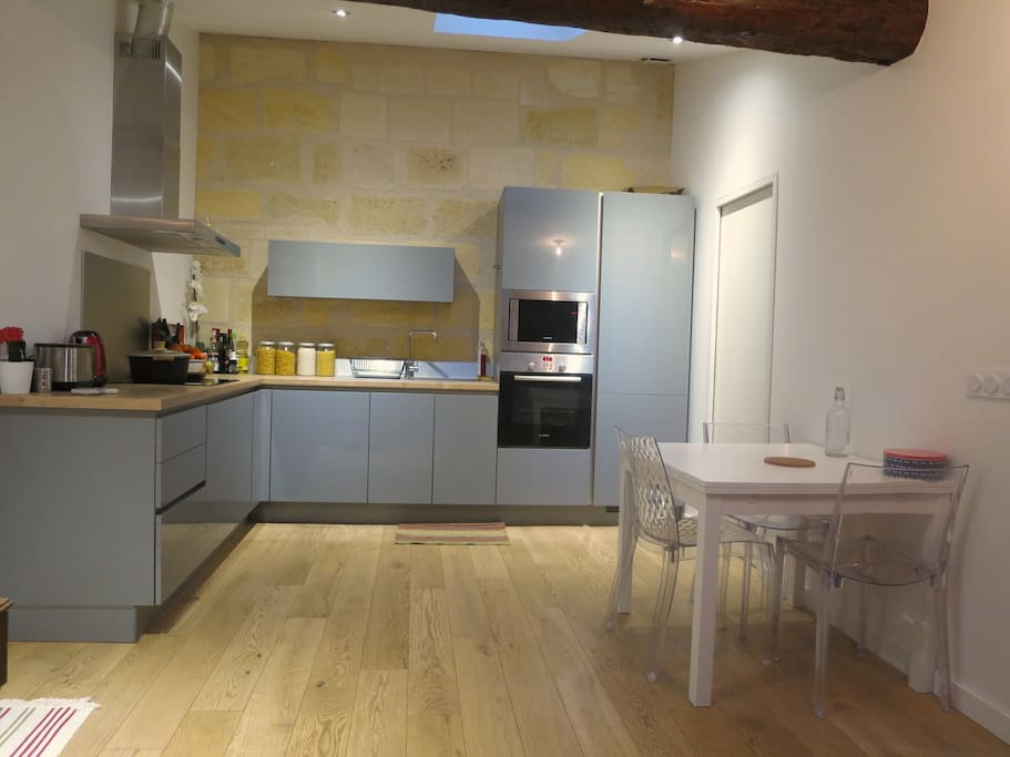 Agr able t2 chartrons appartements louer bordeaux for Appartement bordeaux chartrons t2