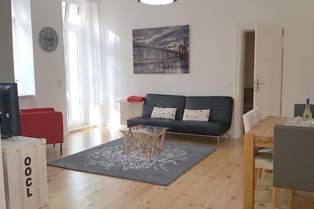 Unique apartment with a private garden in center