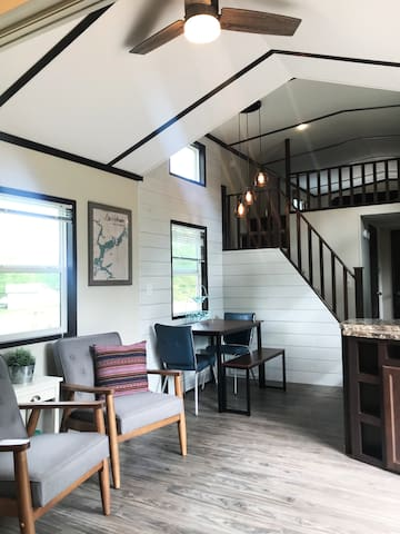 Unique and Modern Tiny House in Lake Holcombe, WI