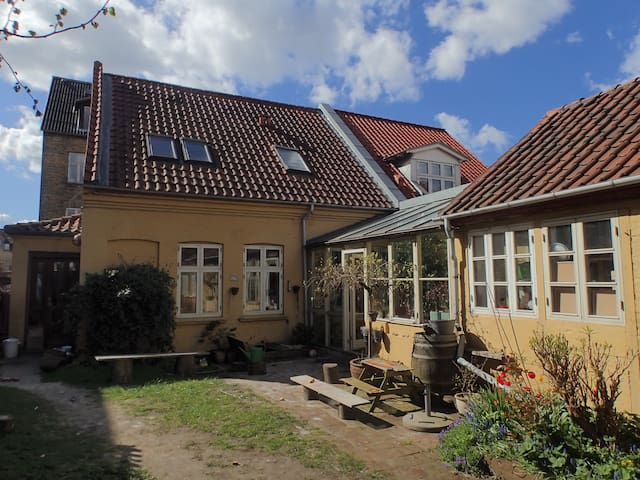 Spacious oasis in the Heart of Aarhus with garden - Aarhus - Apartment