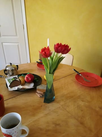 Cosy apartment in a historical house - Tartu - Pis