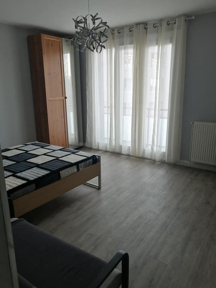Chambre privée Grenoble Centre T3 meublé