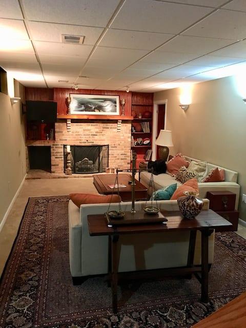Convenient South Hills basement apartment