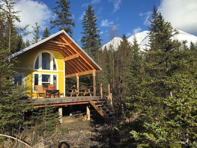 """The Cabins at Kenai Lake- """"Yakutat"""""""