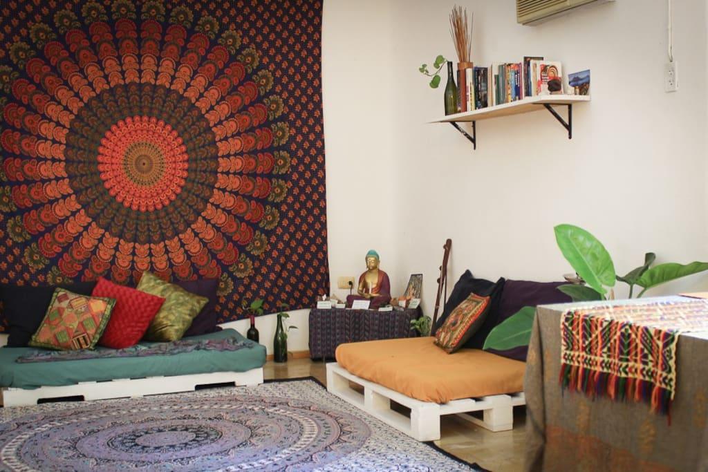 Peaceful Living Room | Sala de Paz