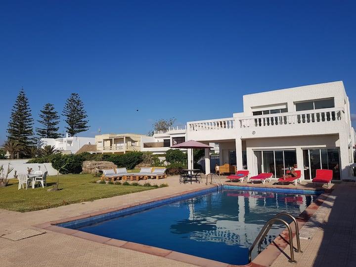 Villa en bord de mer à skhirate
