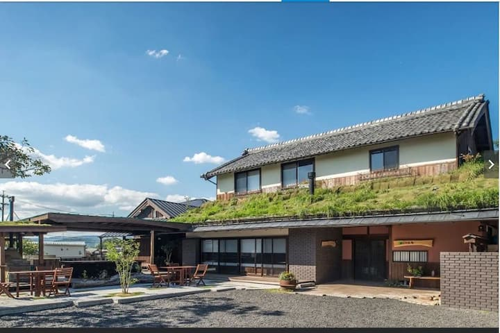 A renovationed traditional Japanese style house
