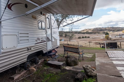 Travel trailer style camping