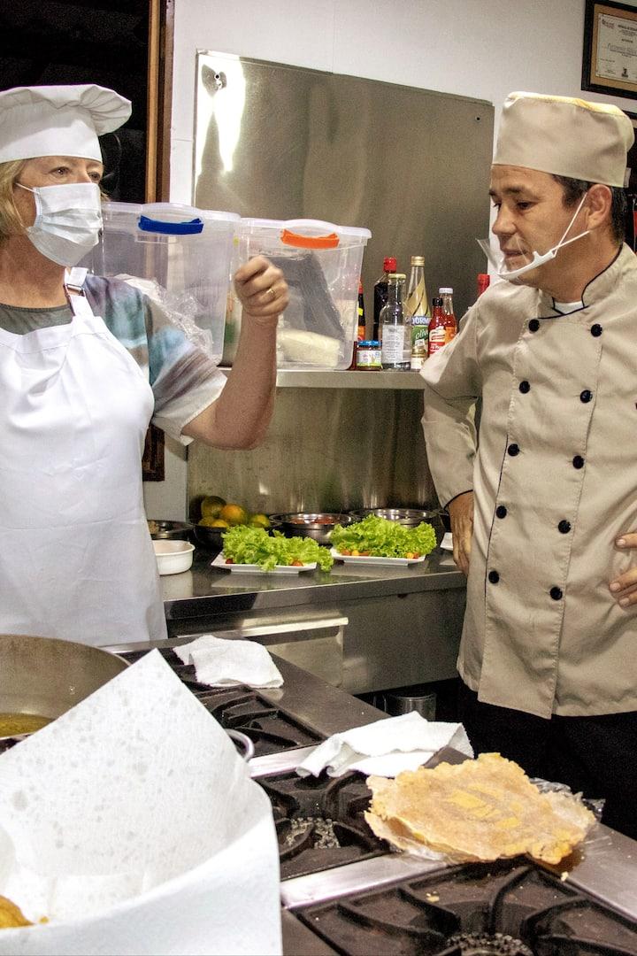 Actividad en cocina