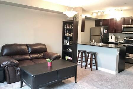 Brand new cozy 1BD apartment - Calgary