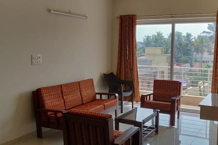 Longfield apartments; 2 BHK, well furnished flat