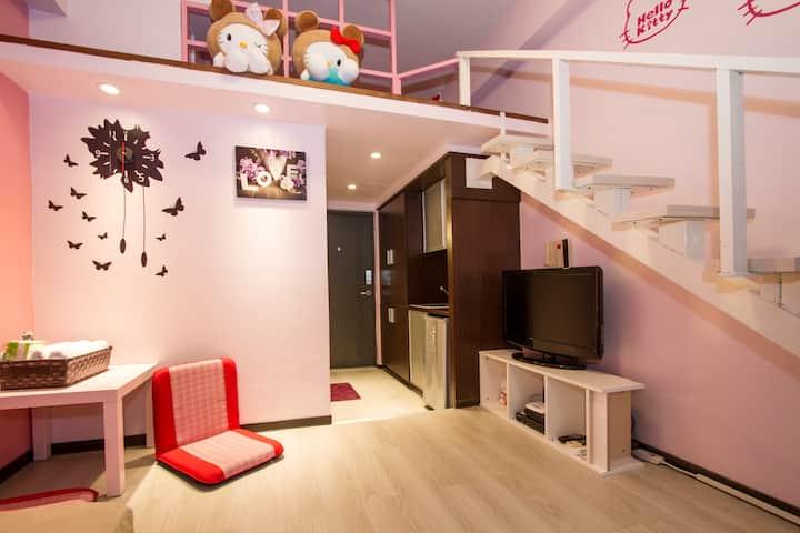 Long stay discount【Taipei Ximending Lift studio_5】