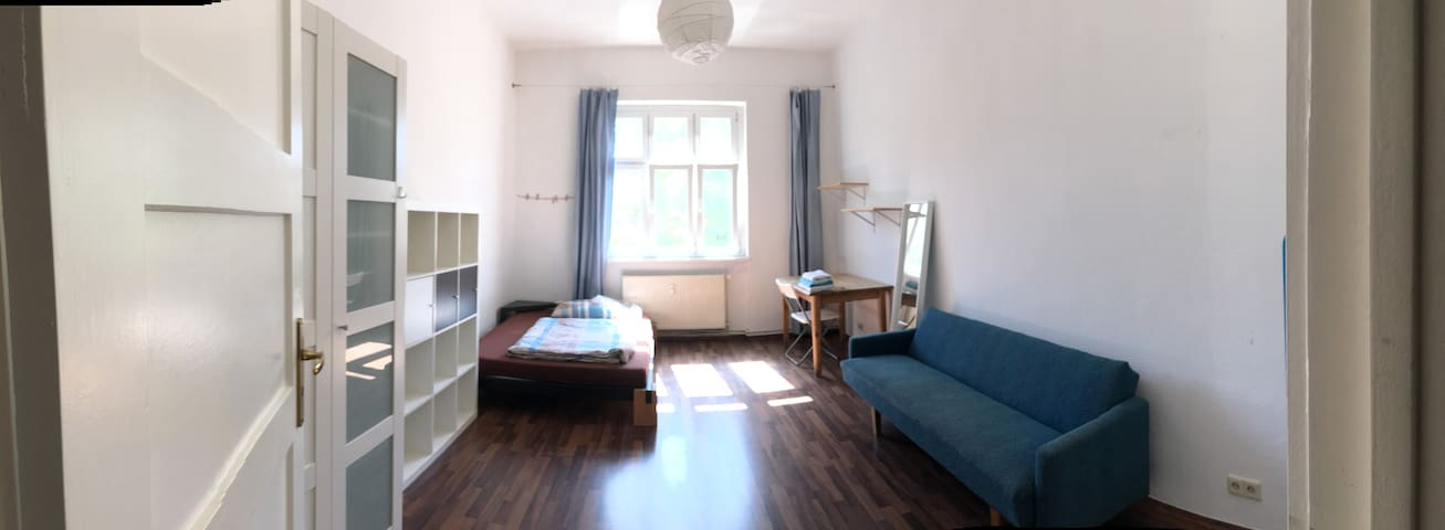 spacious room in city centre (historic Mitte)