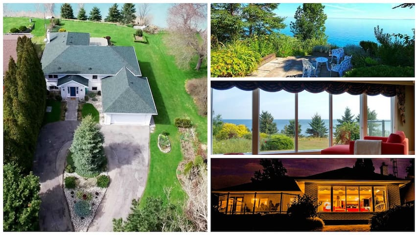 Amazing Waterfront & Wine Country Rental - Lincoln - Huis