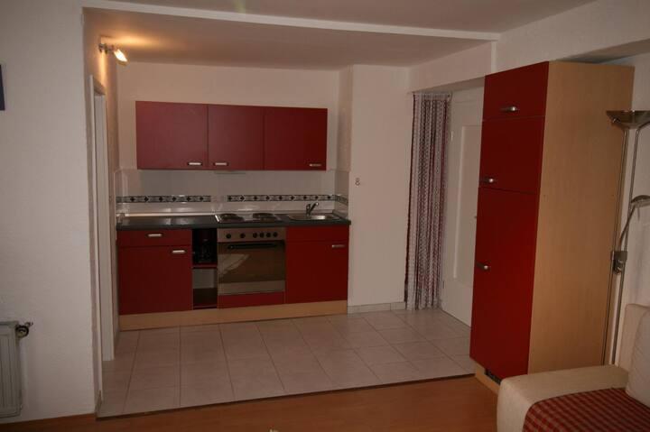 Schreinerhof (Sankt Oswald), Ferienwohnung 45qm mit Balkon und vollausgestatteter Küche für 4 Personen
