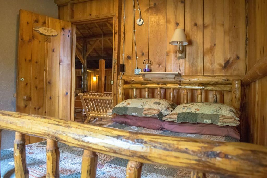 Room #2 in the Historic Range Rider Lodge