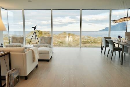 Luxury Oceanfront B&B in Lofoten - Ramberg - 住宿加早餐