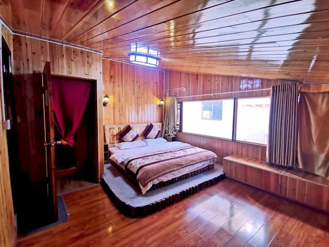 藏家白银大床房(电热毯,接送机服务,免费停车)